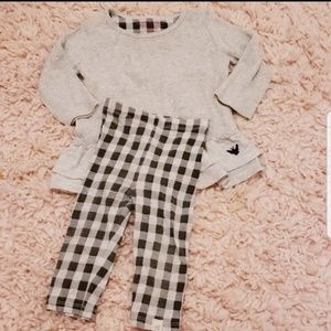 Burts bees baby 12 mos outfit